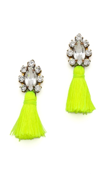 frieda&nellie All the Tassel None of the Hassel Earrings
