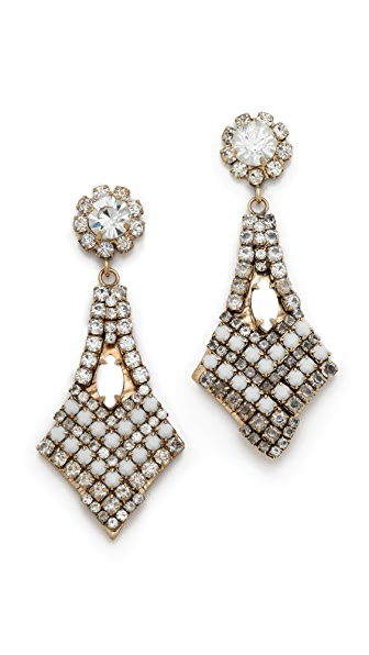 frieda&nellie Rhinestone Marks the Spot Earrings