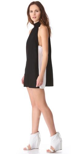 Friend of Mine Drama Colorblock Dress