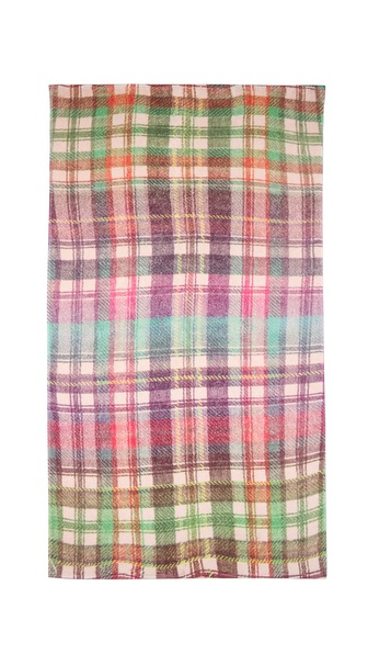 Fresco Towels Highland Plaid Beach Towel