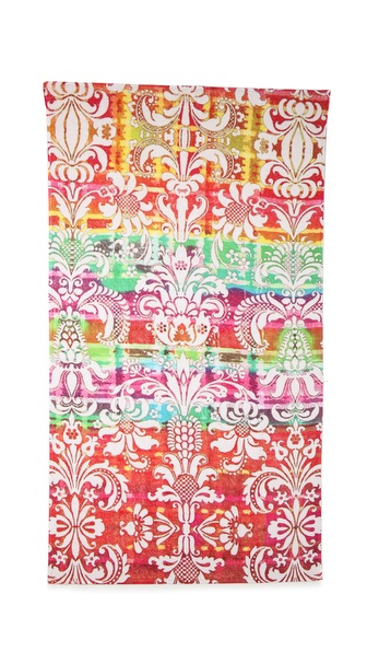 Fresco Towels Rainbow Damask Beach Towel