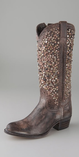 Frye Deborah Studded Boots