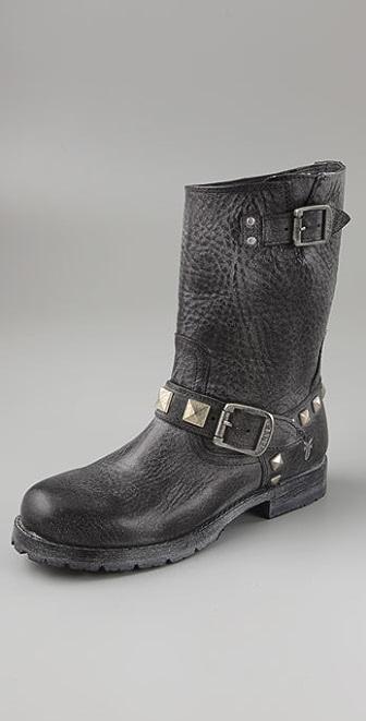 Frye Rogan Studded Engineer Boots