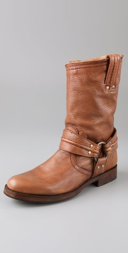 Frye Maxine Trapunto Shortie Boots