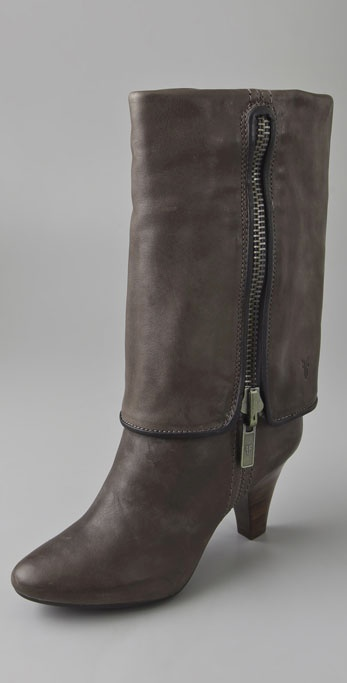 Frye Dannika Piped Cuffed Boots