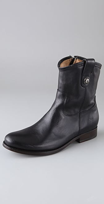 Frye Melissa Button Short Boots