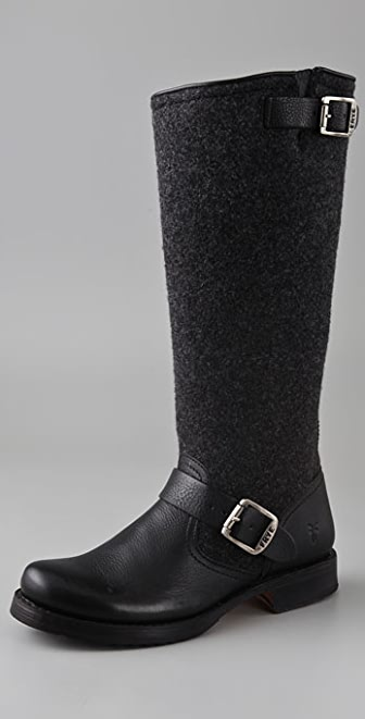 Frye Veronica Wool Boots