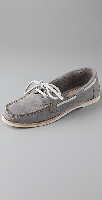 Frye Quincy Boat Shoes