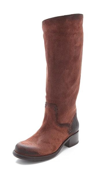 Frye Elena Pull On Flat Boots