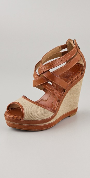 Frye Corrina Wedge Sandals