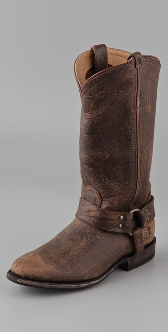Frye Wyatt Harness Boots