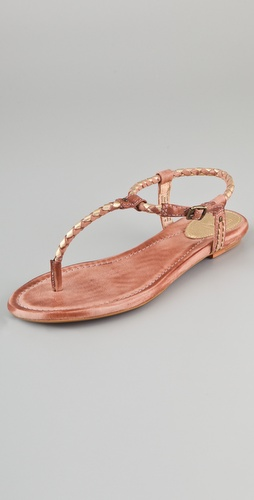 Frye Madison Braided Sandals