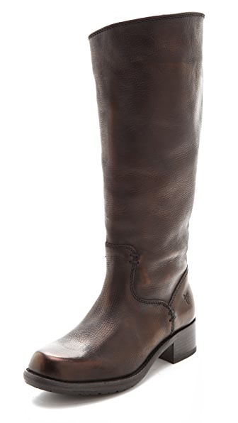 Frye Elena Pull On Leather Boots