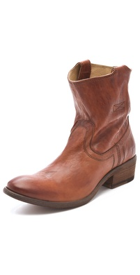 Frye Carson Tab Booties