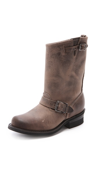 Frye Engineer 12R Boots - Smoke at Shopbop / East Dane