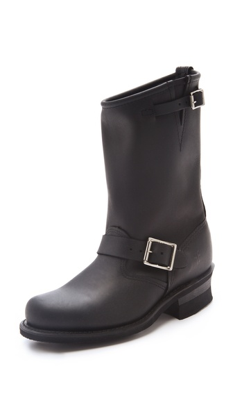 Frye Engineer 12R Boots - Black at Shopbop / East Dane