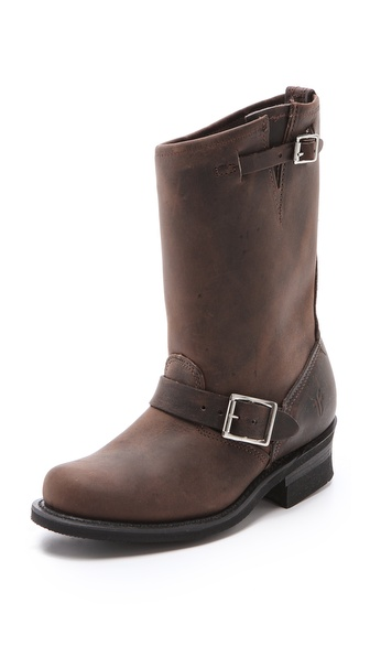 Frye Engineer 12R Boots - Gaucho at Shopbop / East Dane