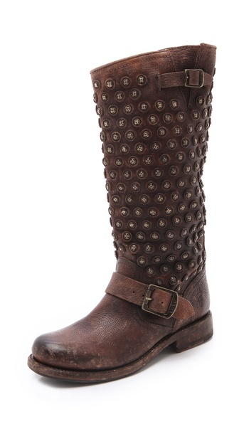 Frye Jenna Disc Boots - Cognac at Shopbop / East Dane