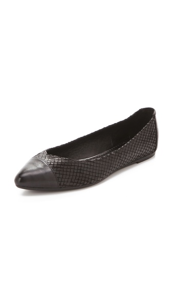 Frye Regina Cap Toe Ballet Flats