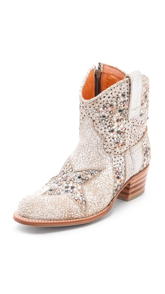Frye Deborah Star Short Boots