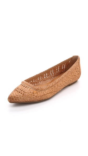 Frye Regina Woven Ballet Flats