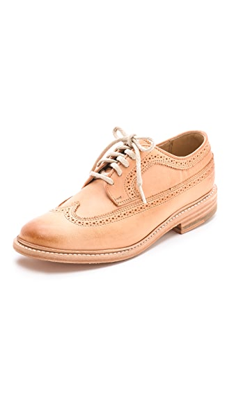 Frye James Wingtip Oxfords