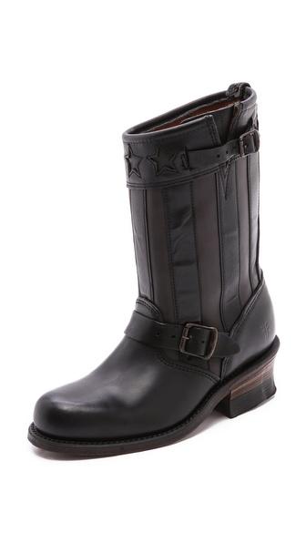 Frye 150th Anniversary Engineer Americana Short Boots