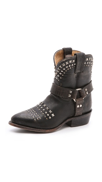 Frye Billy Biker Booties