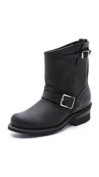 Frye Engineer 8R Boots - Black at Shopbop / East Dane
