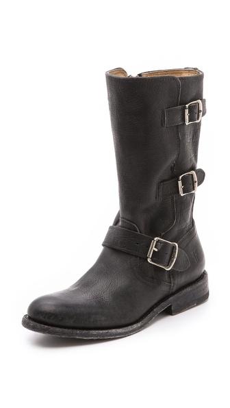 Frye Jayden Moto Cuffed Boots