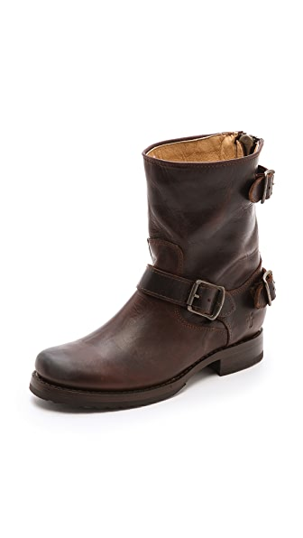 Frye Veronica Back Zip Boots