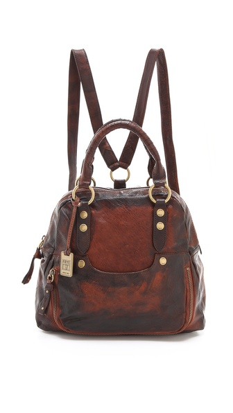 Frye Elaine Vintage Backpack Bag