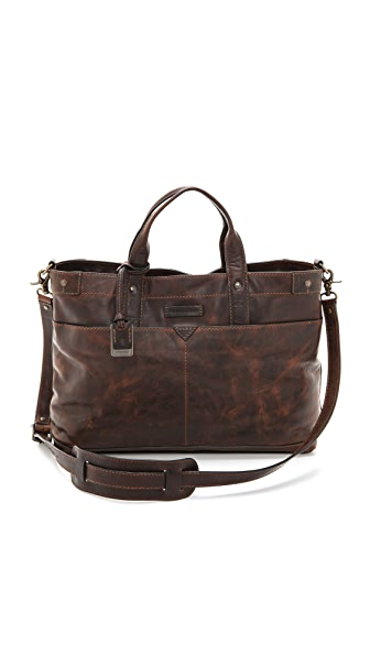 Frye Logan Zip Top Satchel