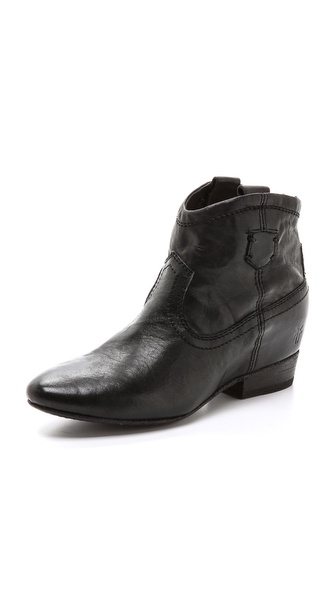 Frye Monica Zip Booties