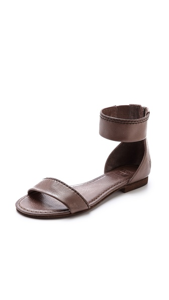 Frye Carson Ankle Zip Sandals