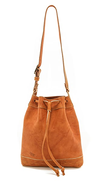 Frye Campus Vintage Drawstring Bag