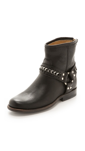 Frye Phillip Chain Short Booties