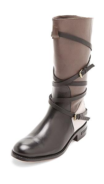 Freda Salvador Colorblock Riding Boots