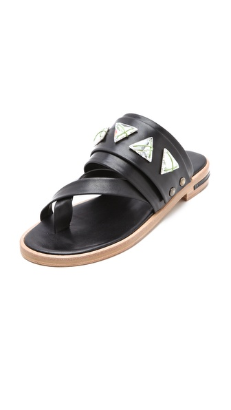Freda Salvador Mind Swarovski Sandals