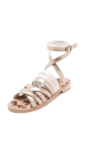 Freda Salvador Force Mix Flat Sandals