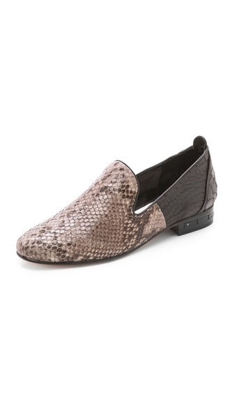 Freda Salvador Magic Mixed Media Loafers