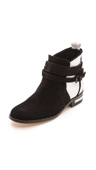 Freda Salvador Dream Colorblock Booties