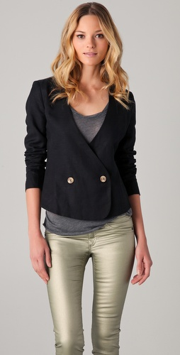 Funktional Sweep Back Blazer