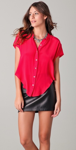 Funktional Breezy Cropped Shirt