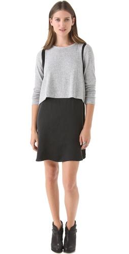 Funktional Silk Shoulder Crop Dress