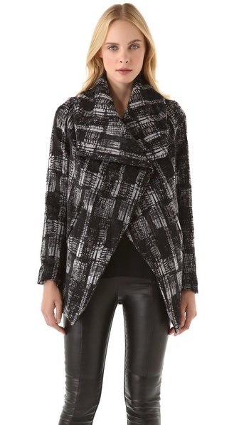 Funktional City Shawl Collar Coat