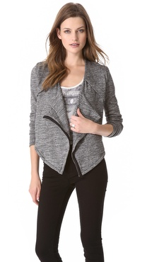 Funktional Graphite Drape Jacket