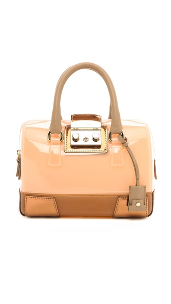 Furla Candy Vanilla Mini Satchel