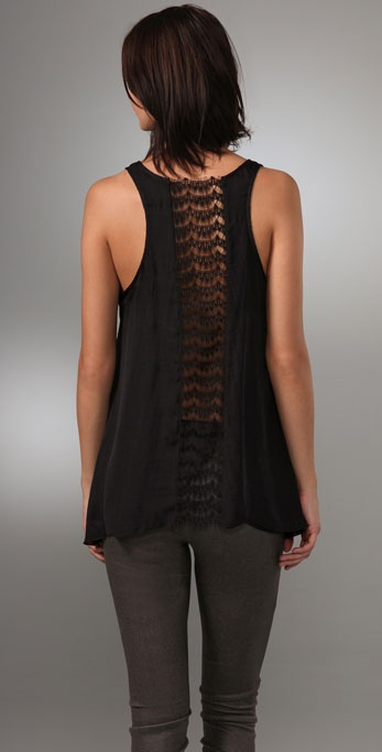 Graham & Spencer Winter Silk Tank