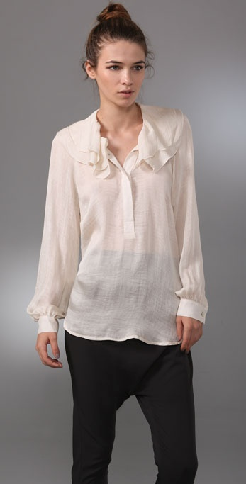 Graham & Spencer Winter Silk Blouse